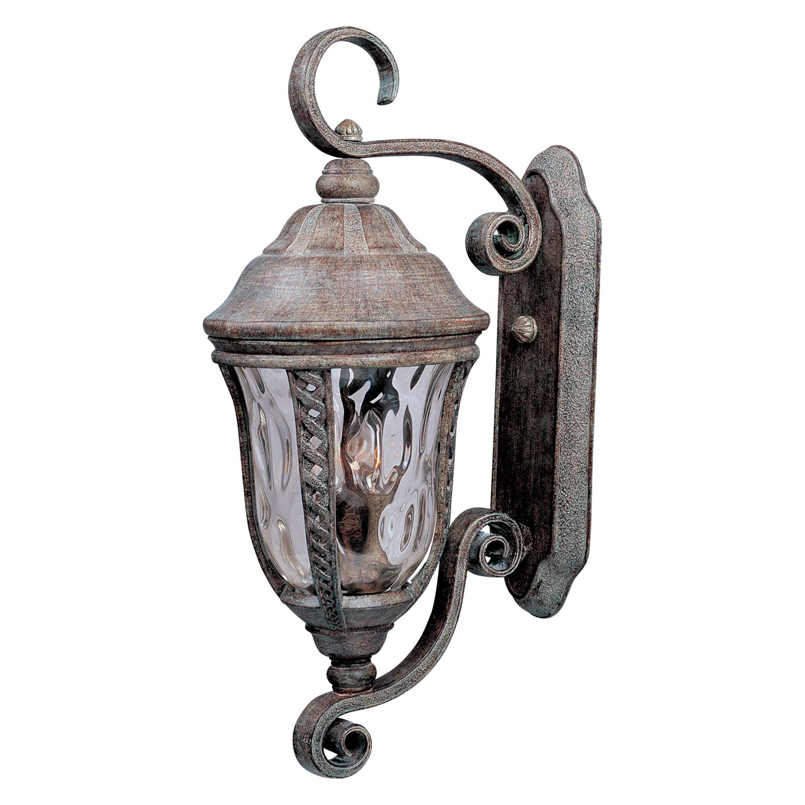 Maxim Whittier DC Outdoor Hanging Wall Lantern - 25.5H in. Earth Tone