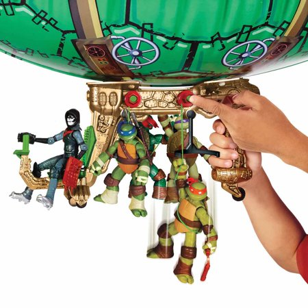 Teenage Mutant Ninja Turtles Blimp - Make Ninja Weapons