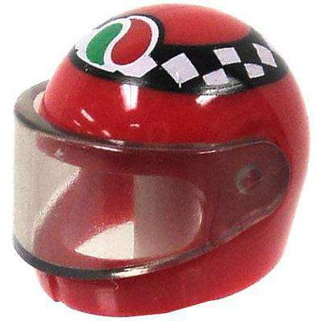 City Helmet - LEGO LEGO City Red Motorcycle Helmet with Checkers & Octon Logo