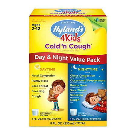Hyland S 4 Kids Cold And Cough Day And Night Value Pack