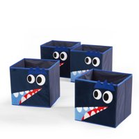 Heritage Club Toy Storage Cubes, Dino (Set of 4)