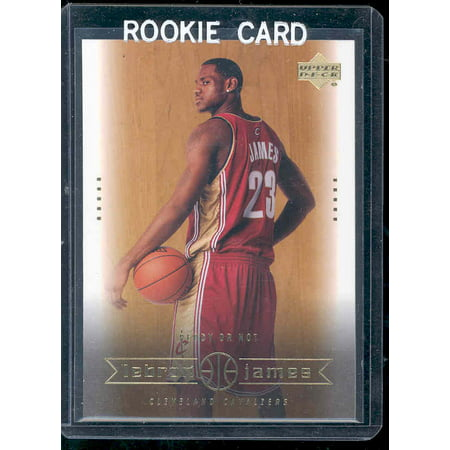 2003 Upper Deck #30 Ready or Not Lebron James Cavaliers NBA Rookie Card ()