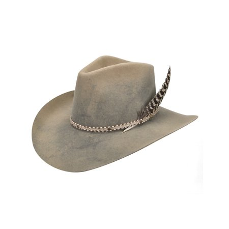 Bailey Cowboy Hat Mens Lucious Cord Band Turkey Feather Accent W16RDA thumbnail