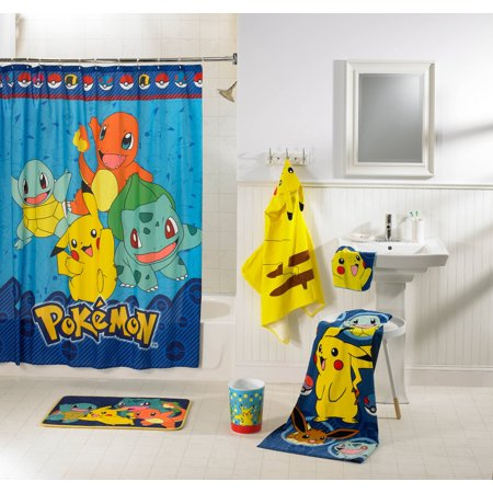 Pokemon Kids 5 Piece Bathroom In A Bag Set Exclusive