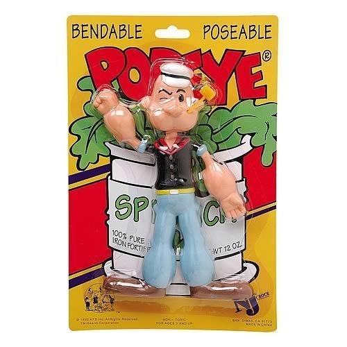 Popeye Bendable 6.5 Inch (Nj Croce Co.)