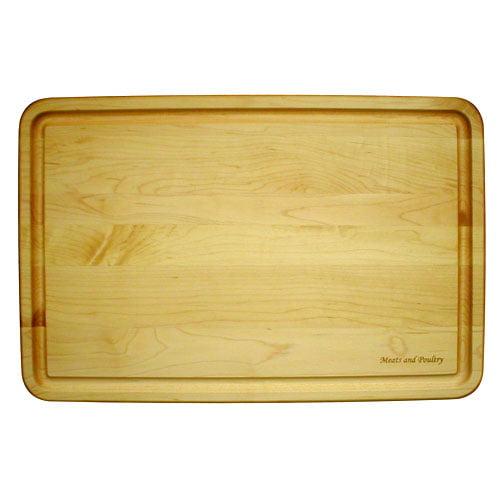 """Hardwood Cutting Board, 12"""" x 18"""""""