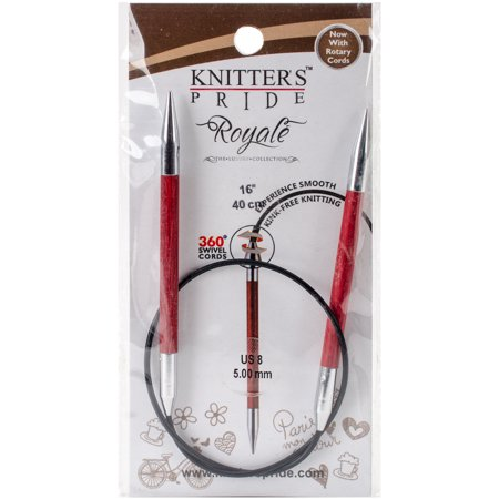 Royale Fixed Circular Needles 16  Size 8 5Mm