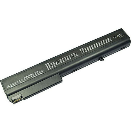 Laptop Battery Pros Replacement Battery for HP Compaq Business Laptops, Black