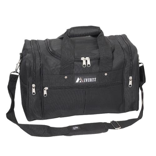 Everest  17.5-inch Carry On Black Travel Gear Duffel Bag