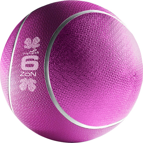 Zon Bright Pink 6lb Strength Training Ball