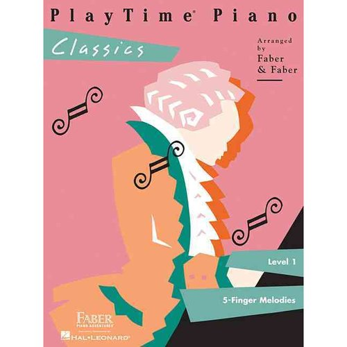 Playtime Piano Classics: Level 1: 5-finger Melodies
