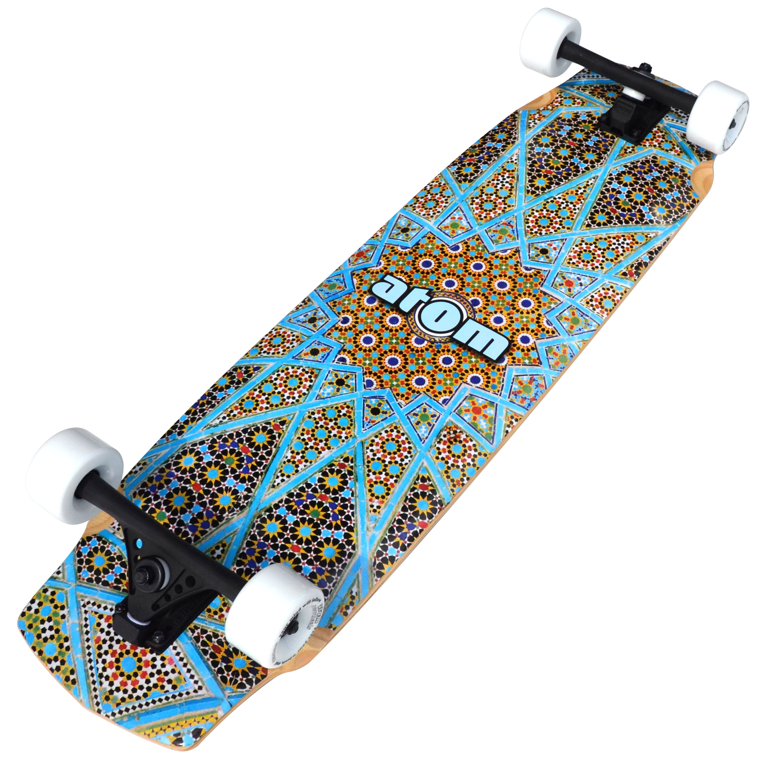 Atom Downhill   Freeride Longboard 37 Inch (Magic Carpet) by Atom