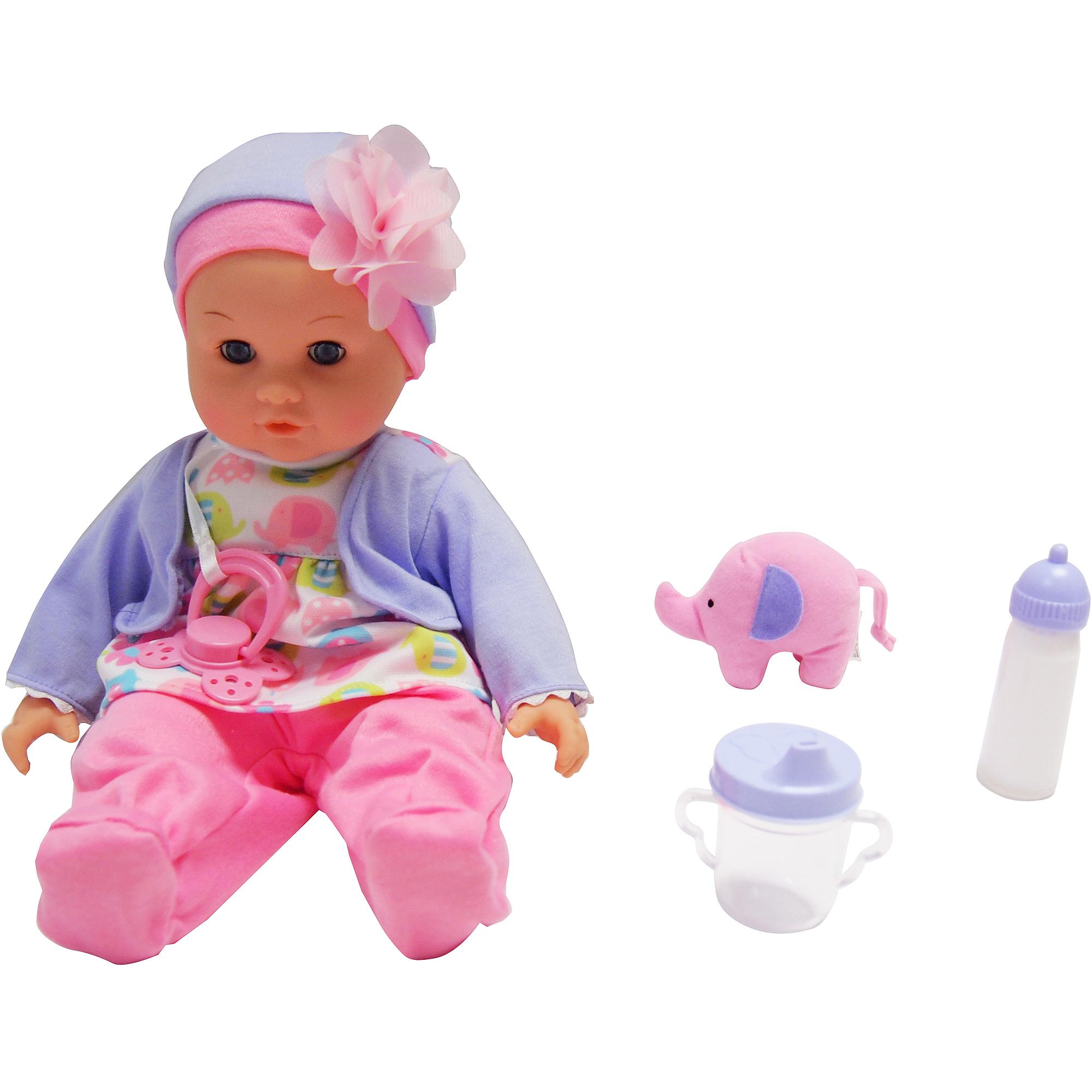 "My Sweet Love 14"" Baby Maggie Doll, Purple"