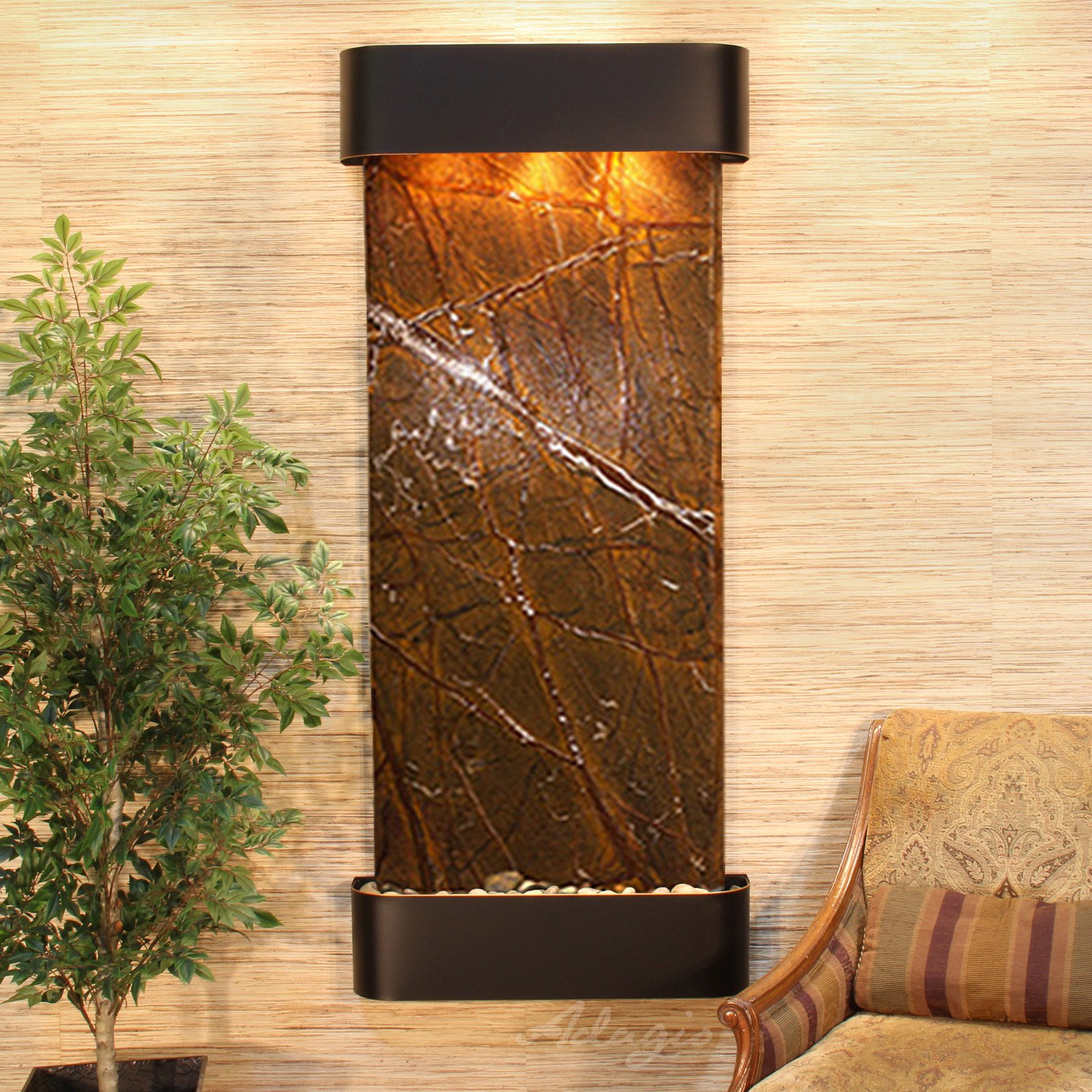 Adagio Inspiration Falls Wall Indoor Fountain - Walmart.com