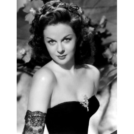 1940's Photograph - Susan Hayward (1918 - 1975) actrice americaine dans les annees 40, 1940's (b/w photo) Print Wall Art