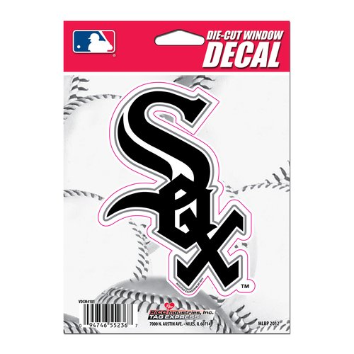 Rico Industries White Sox Die-Cut Vinyl Decal