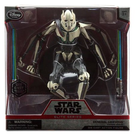 - Disney Elite Series Star Wars General Grievous Diecast