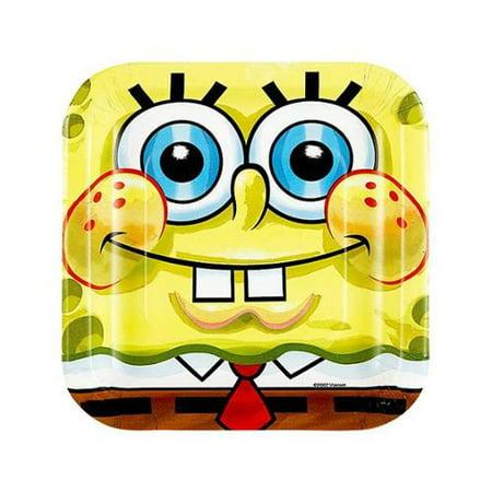 SpongeBob Buddies Dessert Plates (8)](When Is Spongebob Birthday)