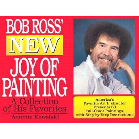Bob Ross Painting Books (Bob Ross' New Joy of Painting)