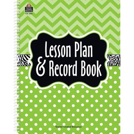 Marquee Lesson Plan & Record Book - Origins Of Halloween Lesson Plan