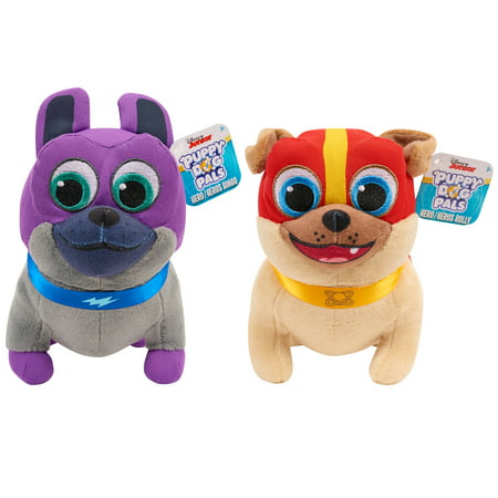 Puppy Dog Pals Bean Plush Hero Bingo & Hero Rolly- 2 Pack -