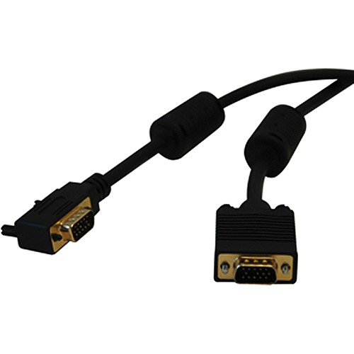 Tripp Lite P502-010-RA Right Angle Monitor Cable with RGB Coax