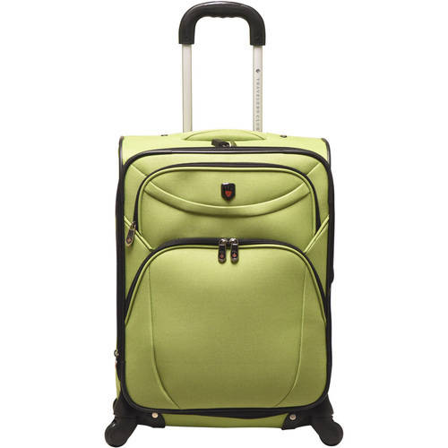 """Travelers Club 21"""" Expandable Spinner Rolling Carry-On"""