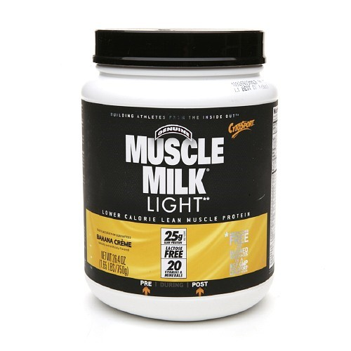 Cytosport Muscle Milk Lite, Banana Cream, 1.64 Lb