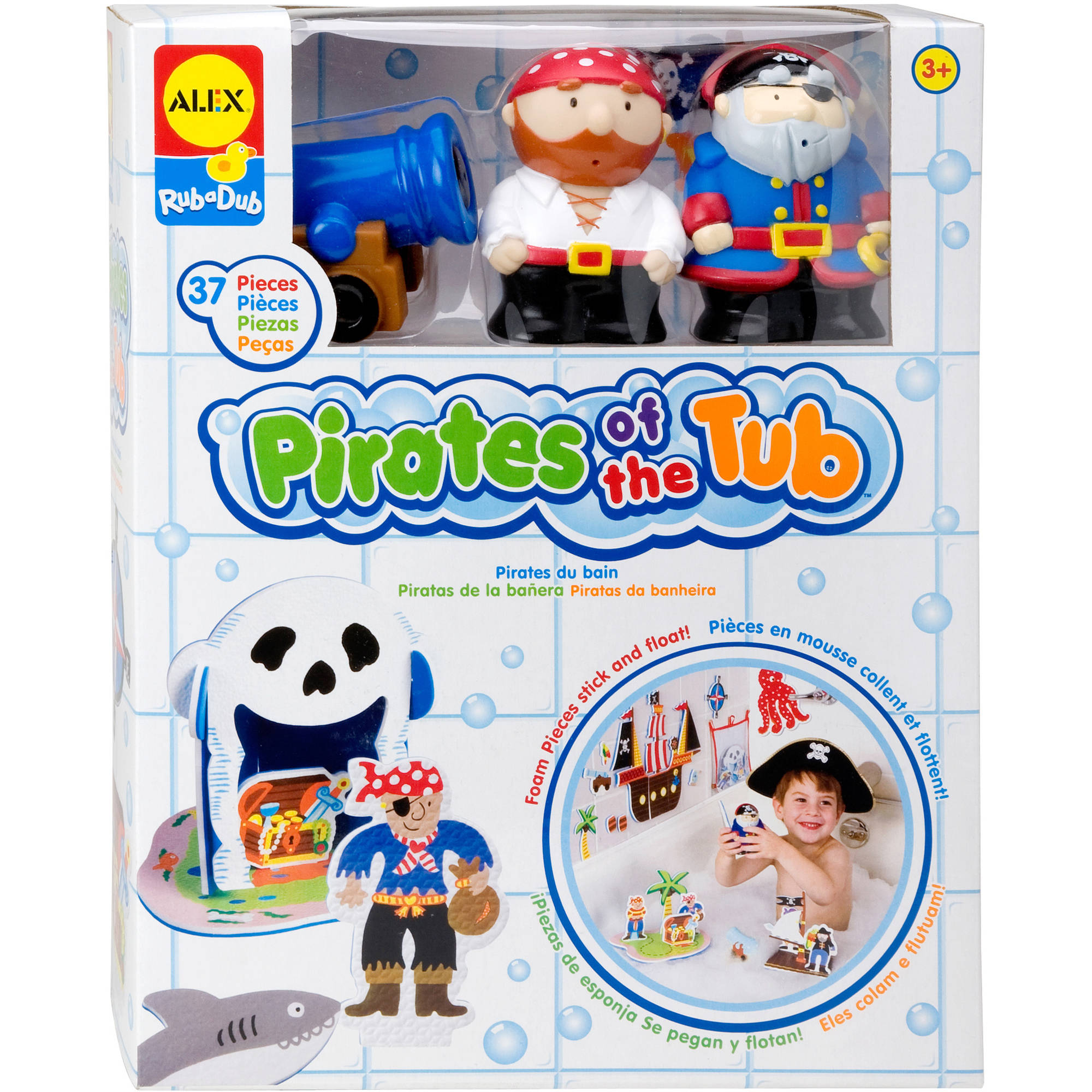 Alex Rub-a-Dub Pirates in the Tub Bath Toy by ALEX Toys