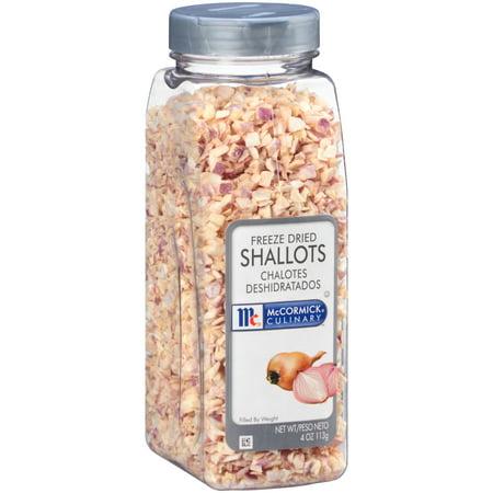 Freeze Dried Garlic - McCormick Culinary Freeze Dried Shallots, 4 oz