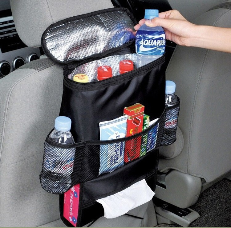 Hot Sale Car Auto Seat Sede Storage Borsa Bag Organizer Holder Hanger Multi-Pocket Nero