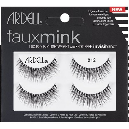Ardell 812 Faux Mink Lash, 4 pairs