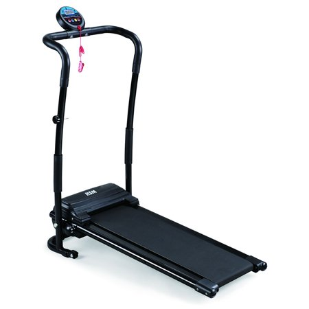Folding Treadmill Electric Support Motorized Power Jogging Machine Running Fitness, 500W