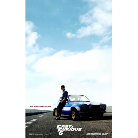 Fast & Furious 6 (2013) 11x17 Movie Poster