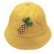 nomeni (2-6 Years)Baby Boys Girls Summer Cartoon Fruit Sun Protection Hat Sunscreen Cap