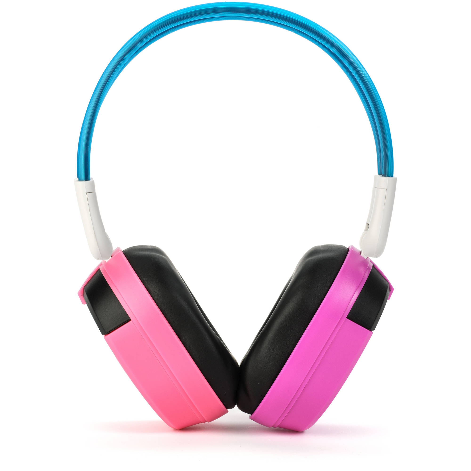 Bravo View IH-04A - KID FRIENDLY Automotive IR Wireless Headphones (Pink/Purple)