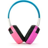 Bravo View IH-04A - Kid-Friendly IR Wireless Headphones (Pink/Purple)