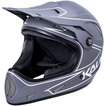 Kali Alpine Rage Helmet: Matte Gray/Silver, MD