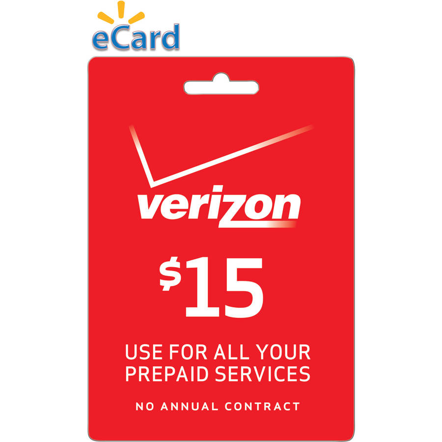 (Email Delivery) Verizon Wireless $15 Refill Prepaid Airtime or Mobile Broadband Day Access