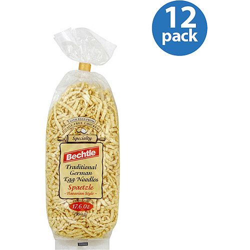 Bechtle Spaetzle Traditional German Egg Noodles, 17.6 oz, (Pack of 12)