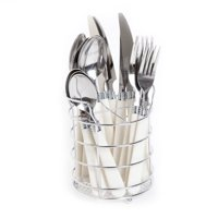 Deals on Gibson Home Sensations II 16-Piece Flatware Set w/Wire Caddy
