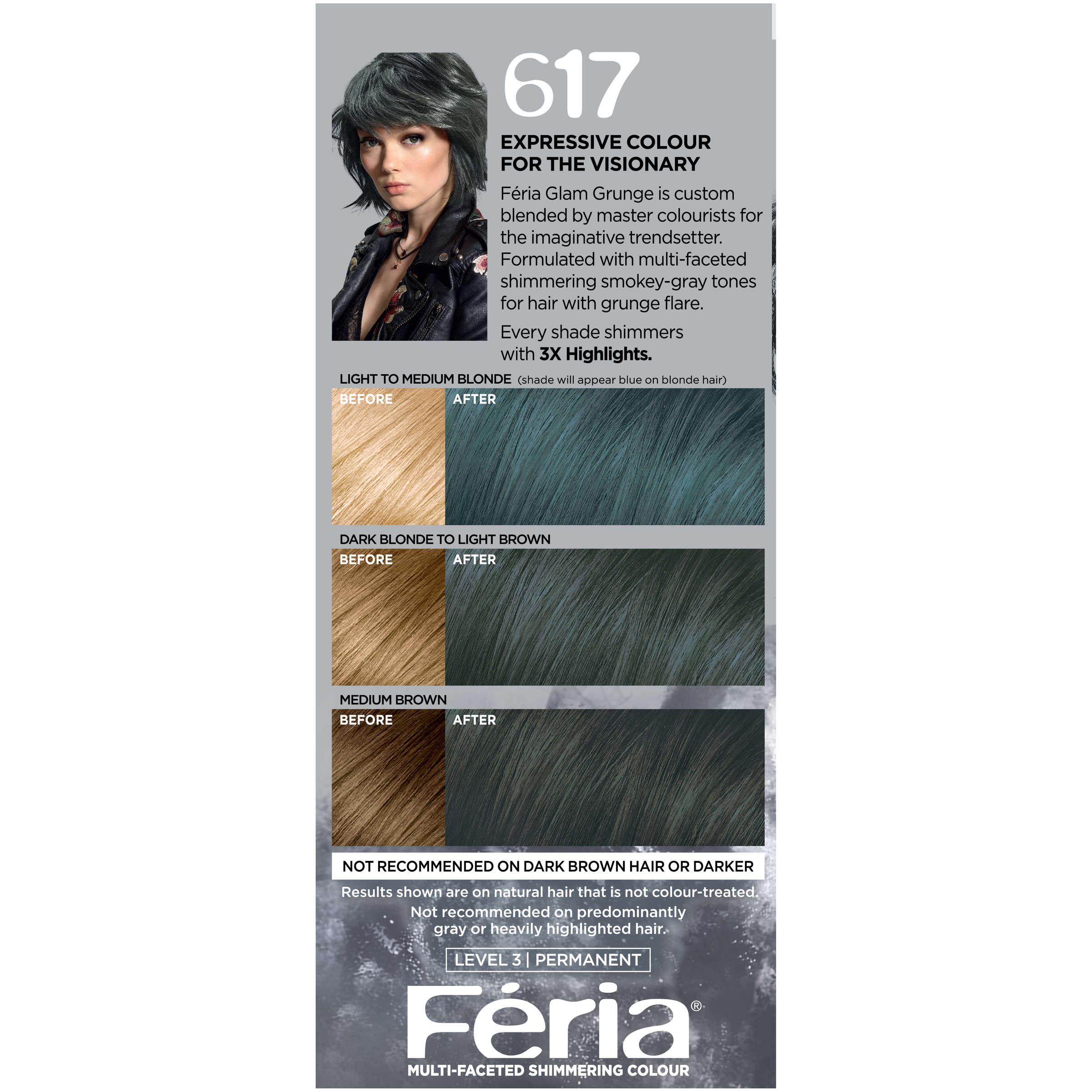 Loreal Paris Feria Permanent Hair Color 721 Dusty Mauve Walmart