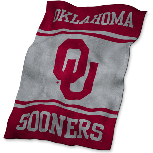 Logo Chair NCAA Oklahoma UltraSoft Blanket