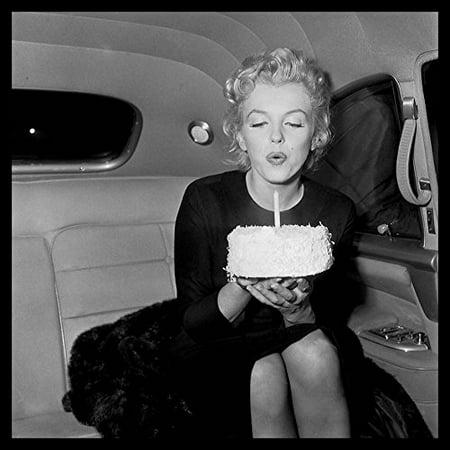 buyartforless Marilyn Monroe Happy Birthday Wall