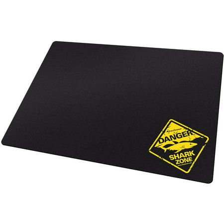 Sharkoon Tough Series 000SK1337T Hard surface Gaming Mouse Pad, Black