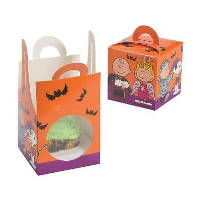 IN-13703140 Peanuts Halloween Cupcake Boxes Per Dozen