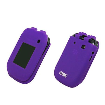 EMPIRE Purple Silicone Skin Case Cover for Sprint Blackberry Style 9670 Blackberry Playbook Silicone Case