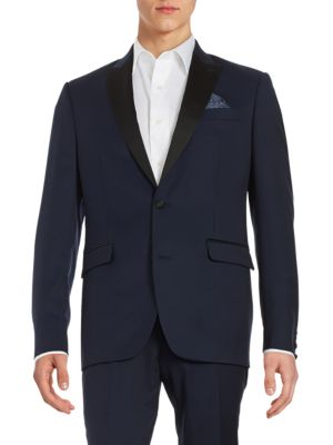 Mason Collection Wool Tuxedo Jacket