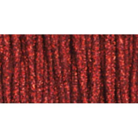 Design Works Craft Trim 10yd-Glitter Red Redwork Embroidery Design