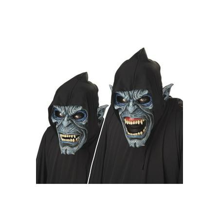 Night Stalker Ani-Motion Mask - Grey Alien Mask